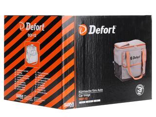 Сумка-холодильник Defort DCF-12 серый, черный