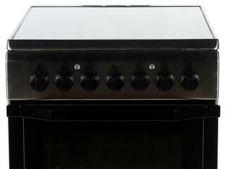 Электрическая плита INDESIT I5VSH2A (X) серебристый