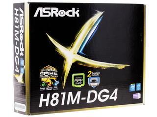 Материнская плата ASRock  H81M-DG4