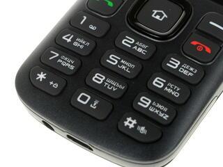 Сотовый телефон DEXP Larus C2 черный