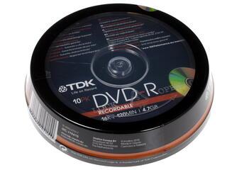 Диск TDK DVD-R 4.7Gb