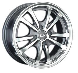 Автомобильный диск литой LS 206 6,5x15 4/100 ET 43 DIA 60,1 GMF
