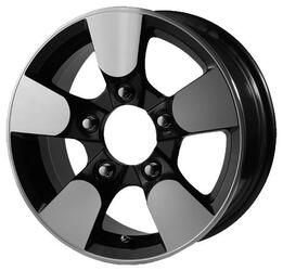 Автомобильный диск Литой Скад Эвридика 6,5x15 5/139,7 ET 40 DIA 98,5 Селена-алмаз