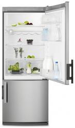 Холодильник с морозильником Electrolux EN2900AOX серебристый