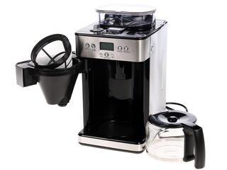 Кофеварка Mystery MCB-5125 серебристый