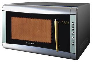 Микроволновая печь Supra MWS-8100 ( 25л, микроволны 900Вт, гриль, электронное управление, дисплей)