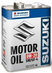 Моторное масло Original Japan Suzuki Motor Oil 0W20 99M00-21R01-004, содержит молибден