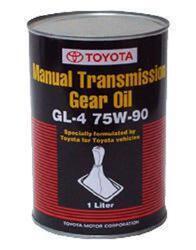 Трансмиссионное масло Toyota HYPOID Gear Oil 75W90 GL-4 08885-81026