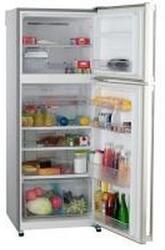 Холодильник с морозильником Sharp SJSC451VSL серебристый