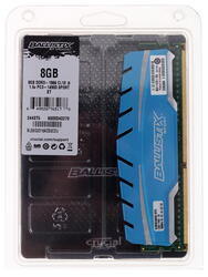 Оперативная память Ballistix Sport XT [BLS8G3D18ADS3CEU] 8 ГБ