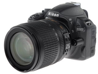 Зеркальная камера Nikon D3100 Kit 18-105mm VR черный