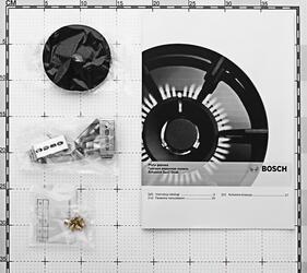 Газовая варочная поверхность Bosch PPP 616M91E