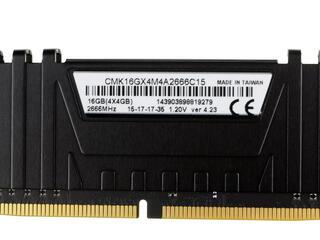 Оперативная память Corsair Vengeance LPX [CMK16GX4M4A2666C15] 16 Гб