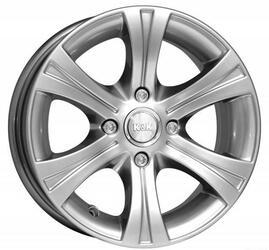 Автомобильный диск Литой K&K Эмир 5,5x13 4/98 ET 18 DIA 58,6 Блэк платинум