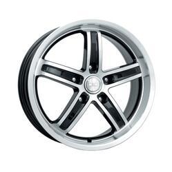 Автомобильный диск литой K&K Маранелло 7x16 5/114,3 ET 34 DIA 67,1 Алмаз черный