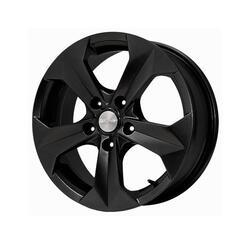 Автомобильный диск Литой Скад Гранит 6x15 5/108 ET 52,5 DIA 63,4 Черный матовый