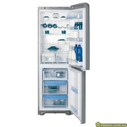 Холодильник с морозильником Indesit PBAA 337 F X(RU) серебристый