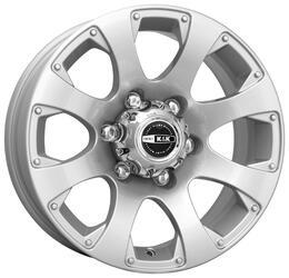 Автомобильный диск  K&K Дакар 7,5x16 6/139,7 ET 15 DIA 106,5 Сильвер