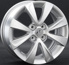 Автомобильный диск литой Replay RN43 6x15 4/100 ET 45 DIA 60,1 Sil