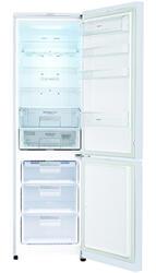 Холодильник с морозильником LG GA-B489TGKW серебристый