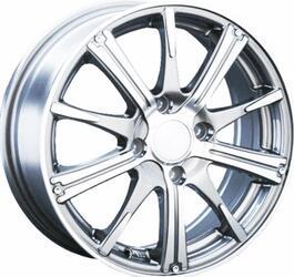 Автомобильный диск Литой LS 209 6x15 4/100 ET 45 DIA 73,1 White