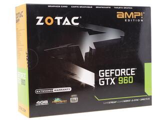 Видеокарта Zotac GeForce GTX 960 AMP! Edition [ZT-90309-10M]