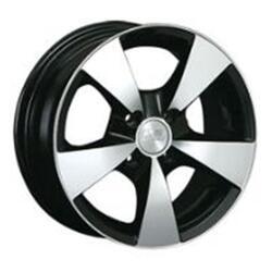 Автомобильный диск Литой LS NG213 6x14 4/108 ET 27 DIA 73,1 BKF