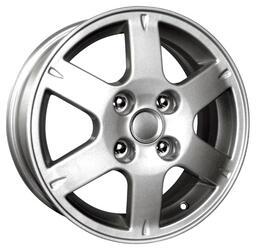 Автомобильный диск Литой K&K КС301 6x15 4/114,3 ET 46 DIA 67,1 Сильвер
