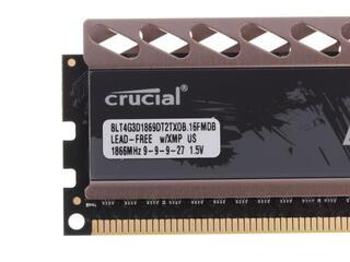 Оперативная память Crucial Ballistix Tactical Tracer [BLT2CP4G3D1869DT2TXOBCEU] 8 Гб