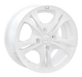 Автомобильный диск Литой LS NG680 6x14 4/98 ET 38 DIA 58,6 White