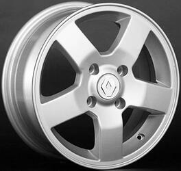Автомобильный диск литой Replay RN25 6x15 4/112 ET 60 DIA 110,1 Sil