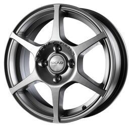 Автомобильный диск Литой Скад Ягуар 5,5x14 4/100 ET 38 DIA 67,1 Селена