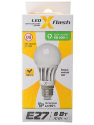 Лампа светодиодная X-Flash XF-BF-E27-8W-3K-220V