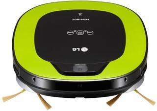 Пылесос-робот LG VRF4042LL зеленый, черный