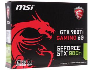 Видеокарта MSI GeForce GTX 980 Ti GAMING 6G [GTX 980Ti GAMING 6G]