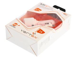 Автомобильное зарядное устройство Vertex CCRSMICROUSBW