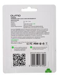 Карта памяти QUMO microSDHC 32 Гб