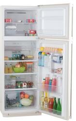 Холодильник с морозильником Sharp SJSC471VBE бежевый