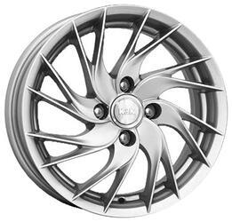 Автомобильный диск Литой K&K Элика 5,5x14 4/100 ET 45 DIA 67,1 Блэк платинум
