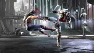 Игра для Wii U Injustice: Gods Among Us