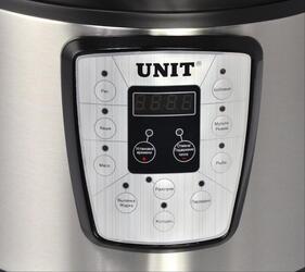 Мультиварка-скороварка Unit USP-1080D серебристый