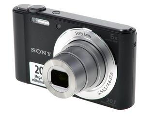 Компактная камера Sony Cyber-shot DSC-W810 черный