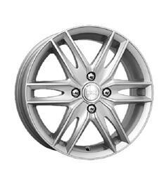 Автомобильный диск  K&K Монтеррей 6x16 5/114,3 ET 48 DIA 67,1 Блэк платинум
