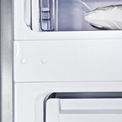 Холодильник с морозильником BEKO CN 328220 S серебристый