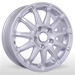 Автомобильный диск литой K&K Пума Лайт 5,5x15 5/100 ET 45 DIA 67,1 Блэк платинум