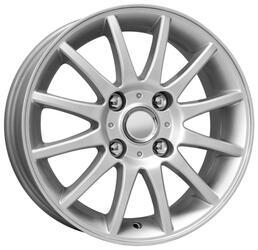 Автомобильный диск Литой K&K КС419 6x15 4/114,3 ET 44 DIA 56,6 Сильвер