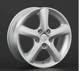 Автомобильный диск литой Replay SZ8 6x16 5/114,3 ET 47 DIA 57,1 Sil