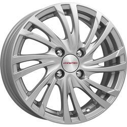 Автомобильный диск литой K&K Мейола 6x15 4/100 ET 45 DIA 67,1 Блэк платинум