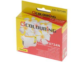 Картридж струйный Colouring CG-T0734