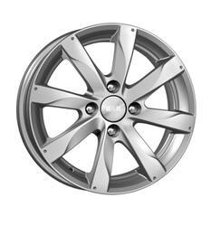 Автомобильный диск Литой K&K Джемини 5,5x14 4/100 ET 49 DIA 56,6 Блэк платинум